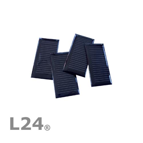 1-STUCK-SOLARZELLE-4V-50mA-30x60mm-SOLARMODUL-MONOKRISTALLIN-VERGOSSEN